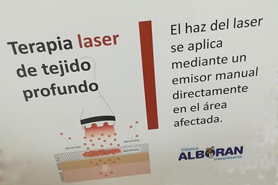 Terapia láser pos cirugía o lesión traumática